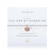 Joma Jewellery A Little YOU ARE MY SUNSHINE Silver Plated Beaded Bracelet